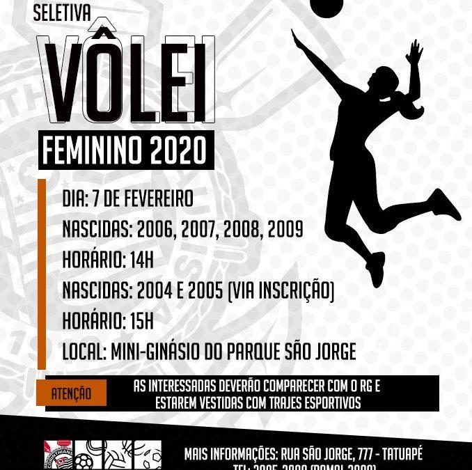 Corinthians Vôlei abre inscrições para atletas de base no Parque São Jorge