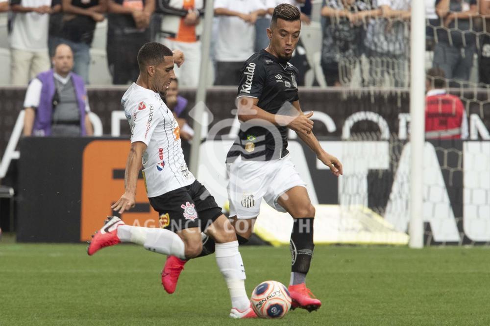Veja os bastidores de Corinthians 2×0 Santos – Paulistão 2020