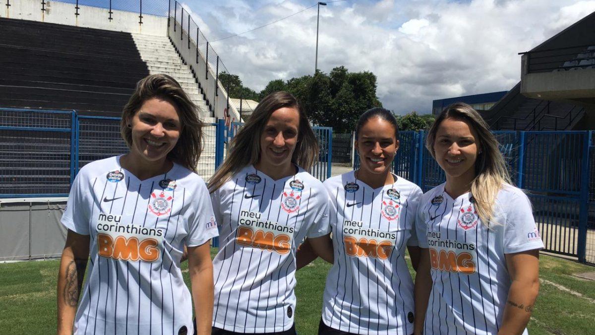 Corinthians e Banco BMG anunciam patrocínio no futebol feminino