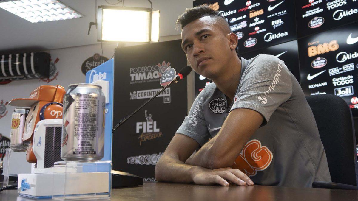 Cantillo analisa momento do Timão e promete trabalho forte na semana para jogo contra Ituano
