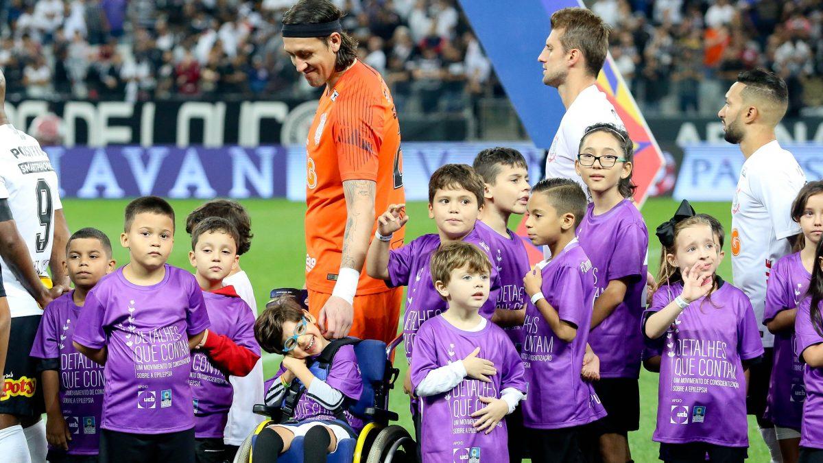 Corinthians concorre a prêmio global por ação de conscientização sobre epilepsia