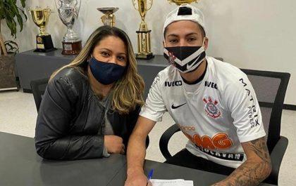 Gabriel Pereira, atacante do sub-20 do Corinthians — Foto: Instagram/Reprodução